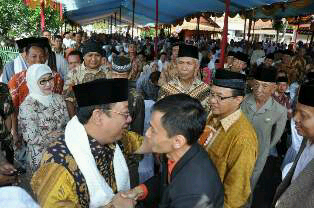 Kunjungan Silaturahmi Ketua DPD Golkar Propinsi Jawa Barat Propinsi Jawa Barat Dr.H. M. Mahfud Irianto (Kang Yance) ke Ponpes Nurul Firdaus Tahun 2013