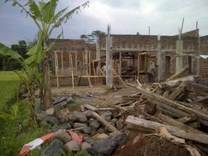 Proses Pembangunan Laboratorium Sain SMP Nurul Firdaus-Panumbangan Kab. Ciamis.
