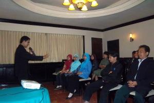 Pelatihan Hipnotis di Hypnosis SHOT-Indonesia bersama Gumilar