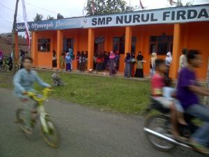 Sekolah Menengah Pertama (SMP) Nurul Firdaus, Dusun Panoongan, Desa Kertaraharja, Kec. Panumbangan, Kab. Ciamis, Jabar