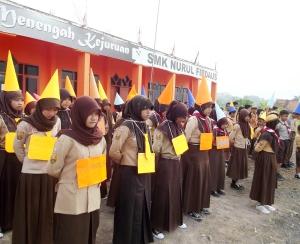 Siswa/Santri Baru SMP/SMK Nurul Firdaus Sedang Mengikuti Masa Orientasi Pra-Studi.
