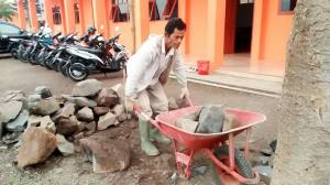 Persiapan Material Pembangunan Mesjid Jami di Ponpes Nurul Firdaus